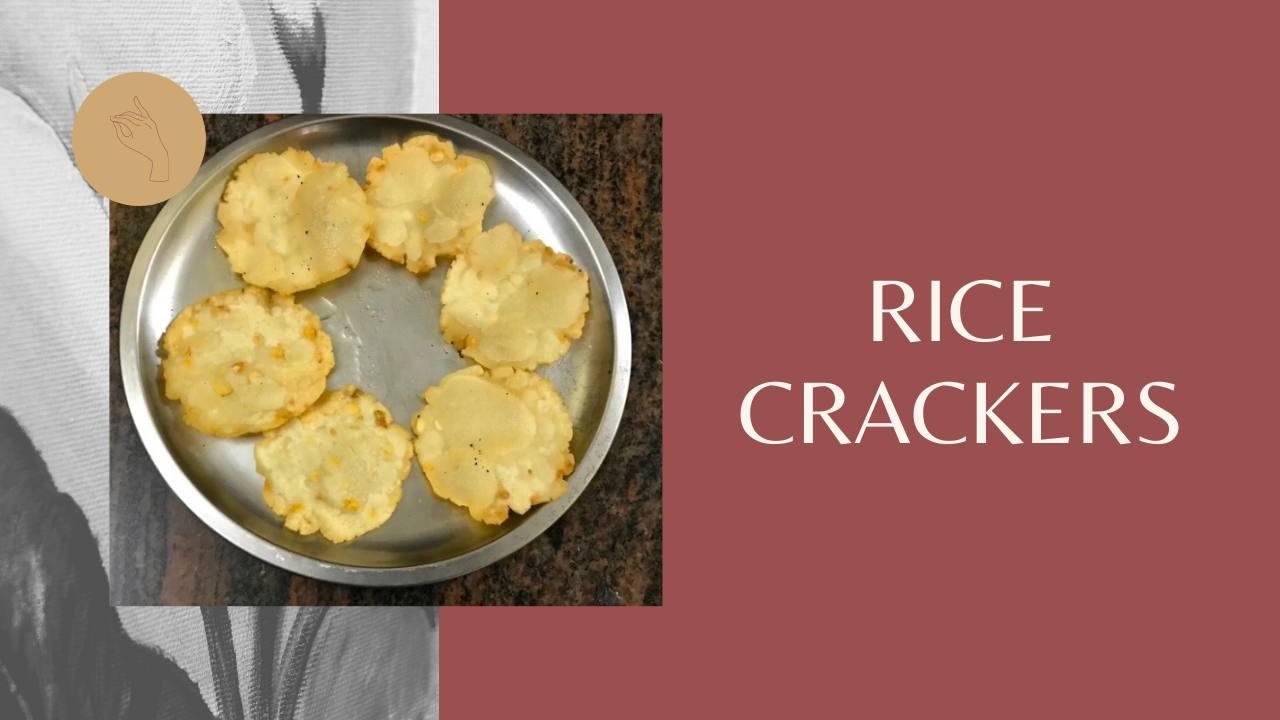Rice Crackers   Pappu Chekkalu