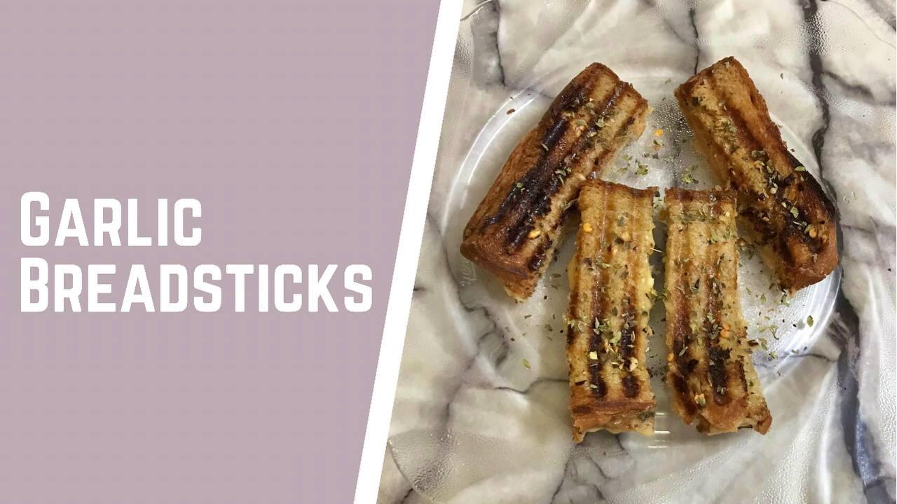 Garlic Breadsticks | Easy 10 min Garlic Breadsticks | No Oven